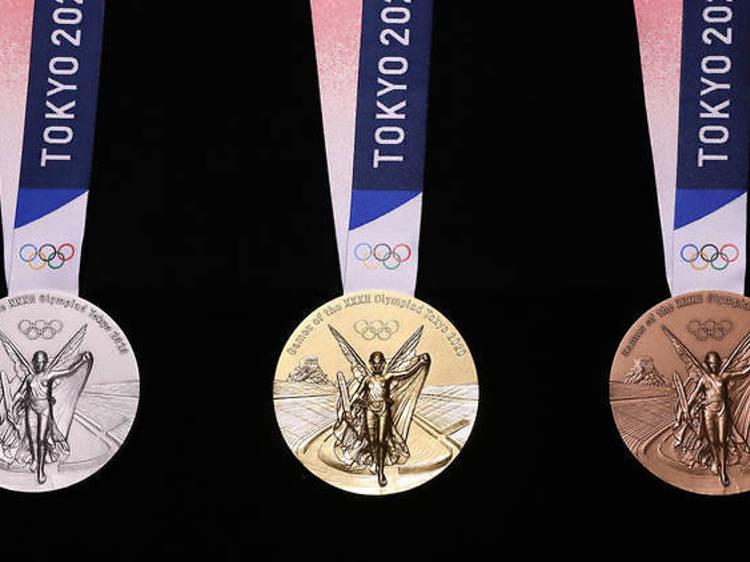 東京2020オリンピック、獲得メダル数速報