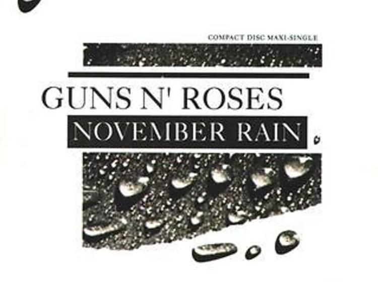 """""""November Rain"""" by Guns N' Roses"""