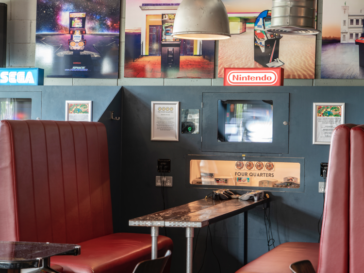 A massive Four Quarters arcade bar is opening in Elephant & Castle