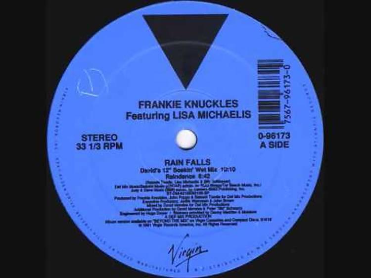 """""""Rain Falls (David's Soakin' Wet Mix)"""" by Frankie Knuckles"""