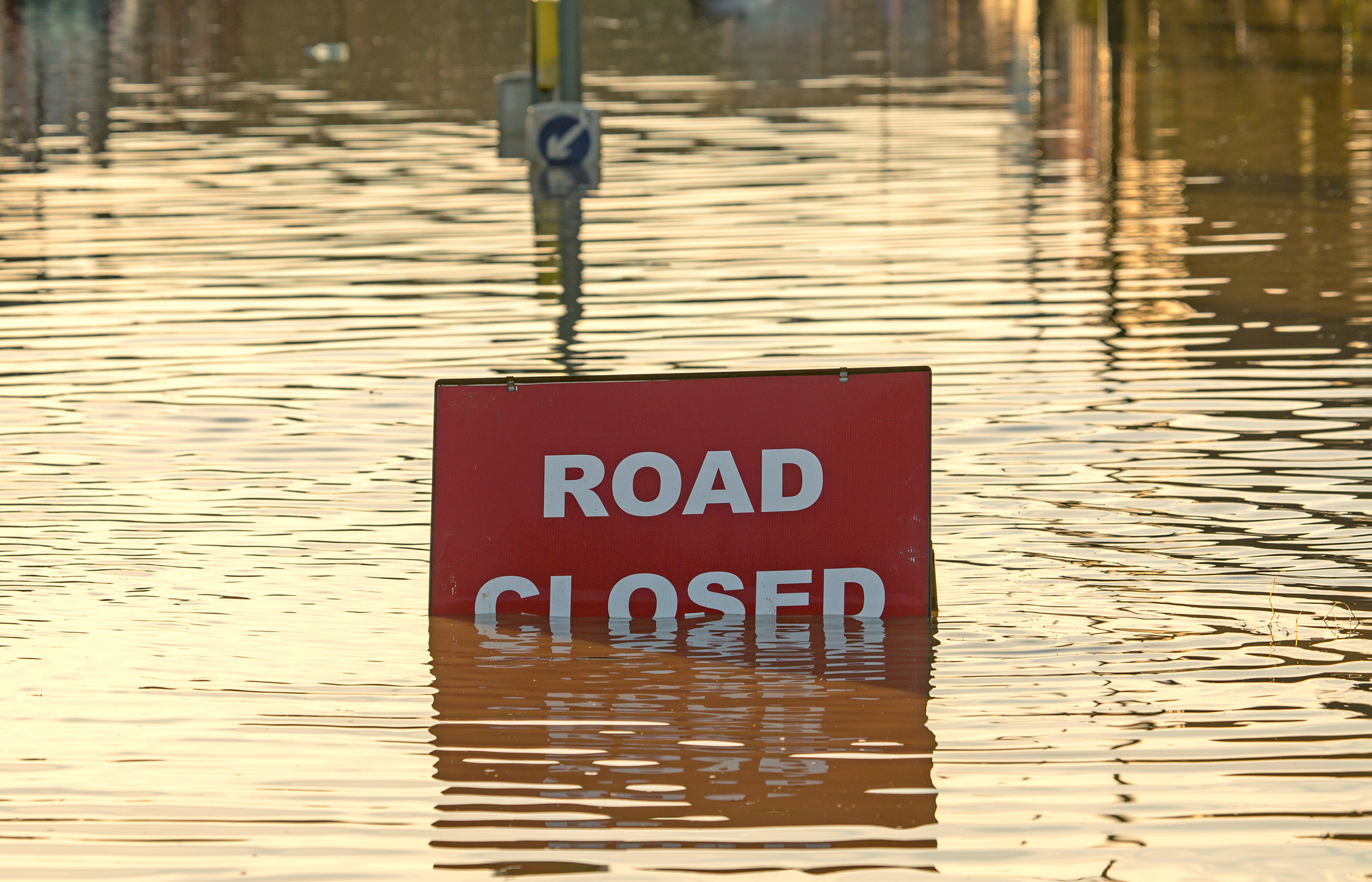 These roads are still closed after the flooding in London last night
