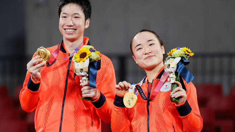 Tokyo Olympics, table tennis, Jun Mizutani, Mima Ito