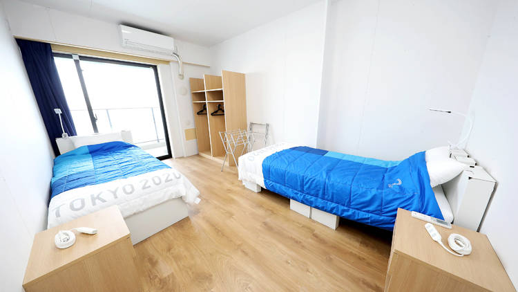 Olympic Village bed