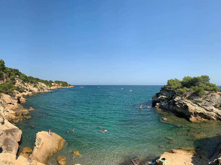 Playa de l'Illot (l'Ametlla de Mar)