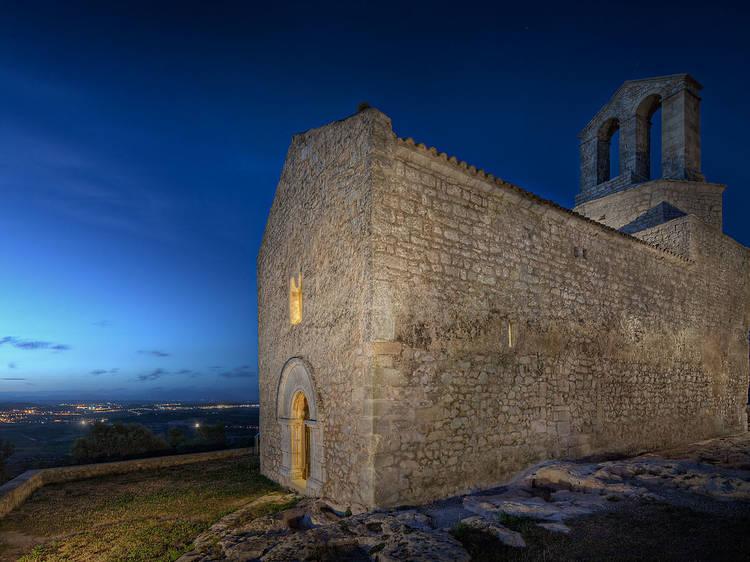 Noches en el castillo de Olèrdola