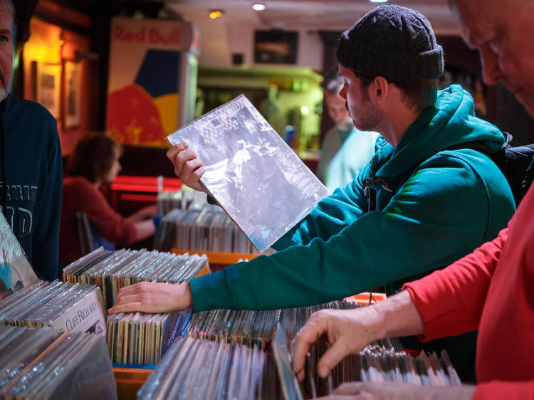 A traveling record fair will stop in Logan Square in September