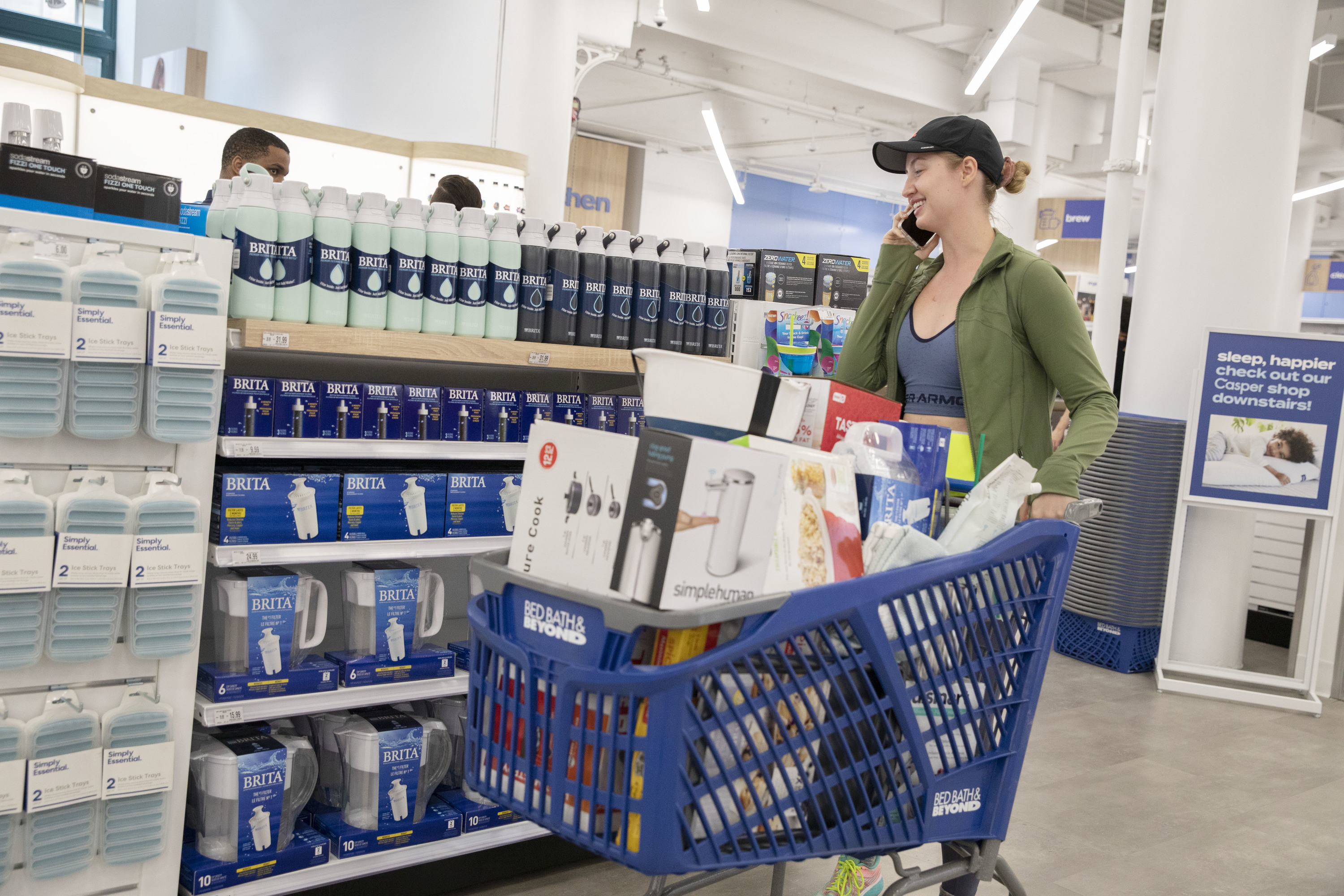 Finally—The Bed Bath & Beyond on Sixth Ave has officially reopened