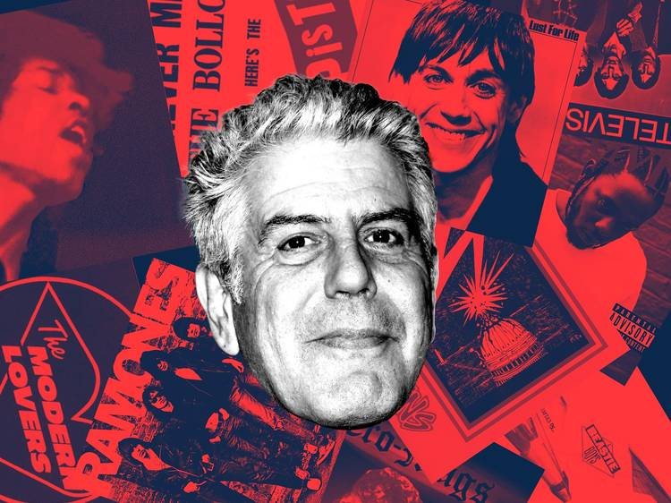 This Spotify playlist features more than 20 hours of Anthony Bourdain's fave songs