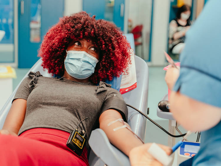 There's an urgent call for Black Londoners to give blood