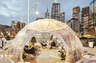 Igloo at the Winter Village 2021