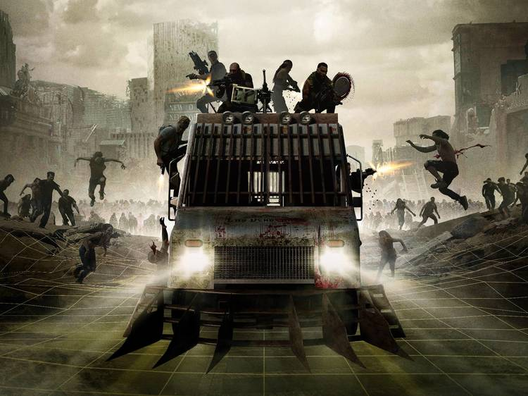 You'll battle zombies in this 'Army of the Dead' immersive experience