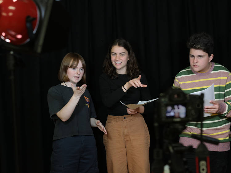 Get the young thespian in your life into these fun weekly drama classes