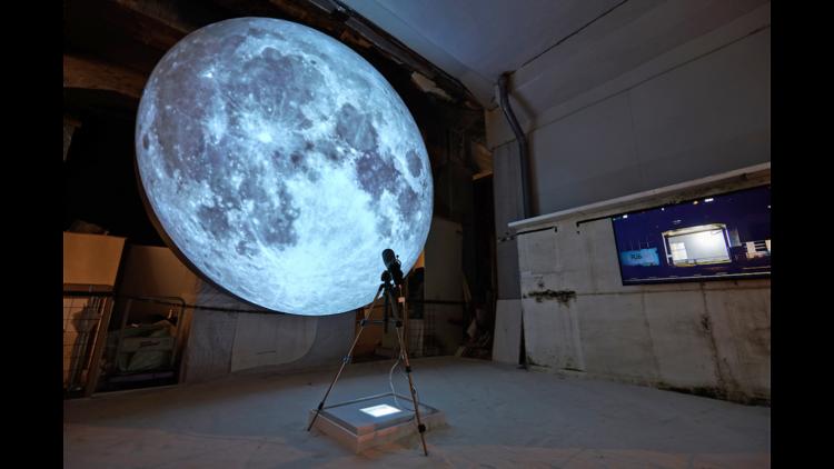 渡辺篤『同じ月を見た日』アイムヒア プロジェクト(R16 studio、横浜)©︎Keisuke Inoue