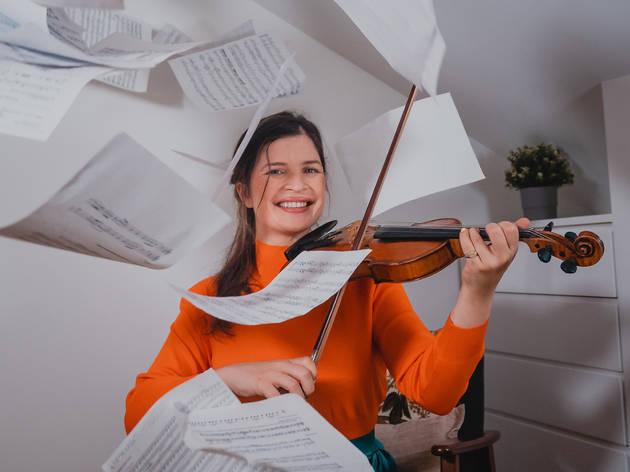 Música, Fadista, Inês de Vasconcellos