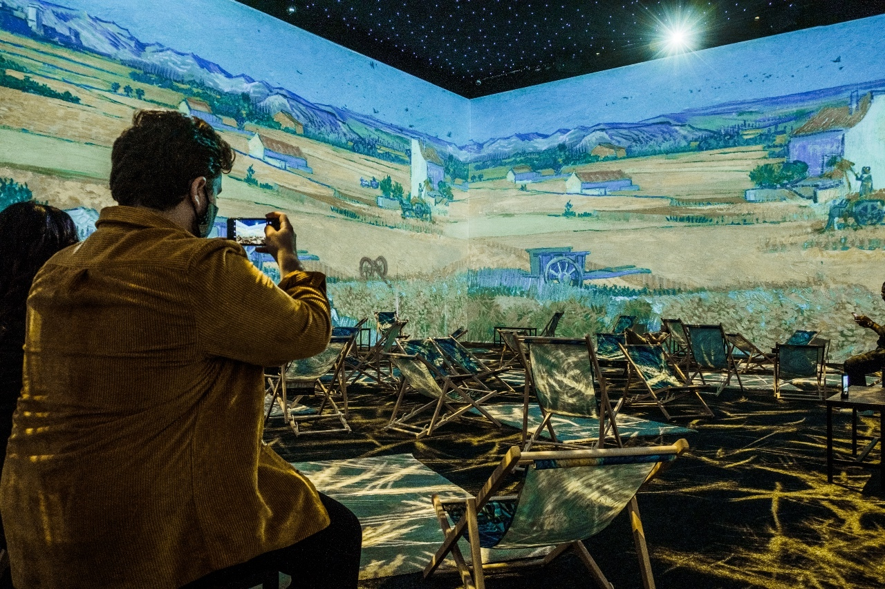 Your first look at the eye-popping, immersive Van Gogh exhibition