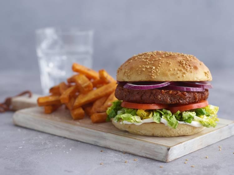 Meatless Farm brings vegan 'Barbe-Thru' to Manchester