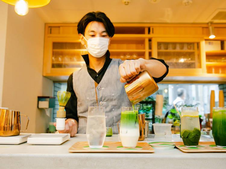 抹茶のサードウェーブ? 江戸時代から続く老舗がカフェをオープン