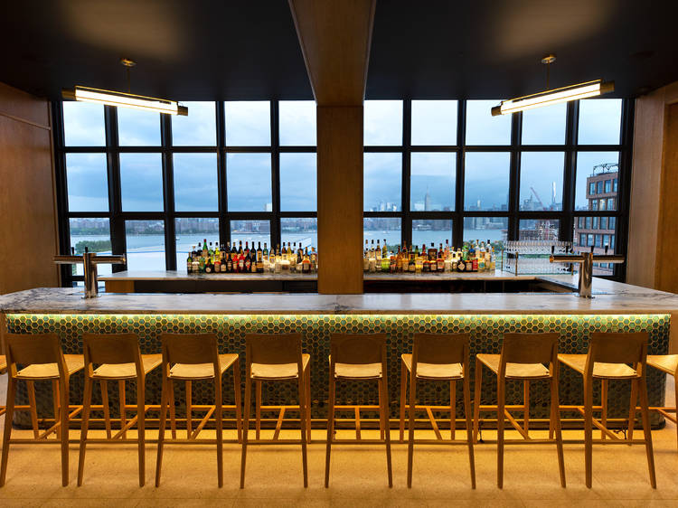 Bar Blondeau opens tonight at the Wythe Hotel