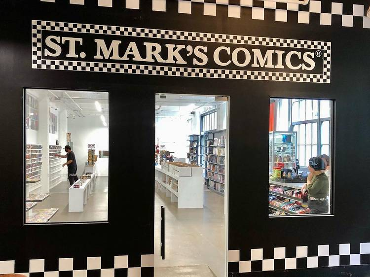The legendary St. Mark's Comics has opened at Industry City