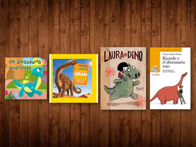 Libros de dinosaurios para niños