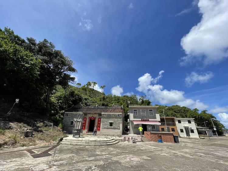 滘西村看洪聖爺廟