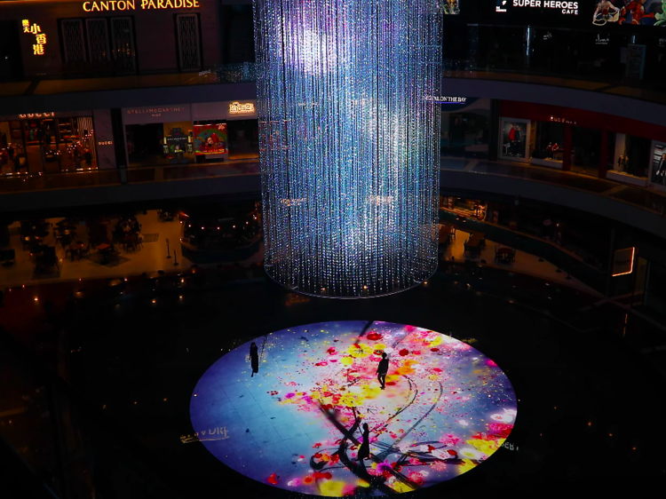 TeamLab's new artwork explodes with colour at Marina Bay Sands this August