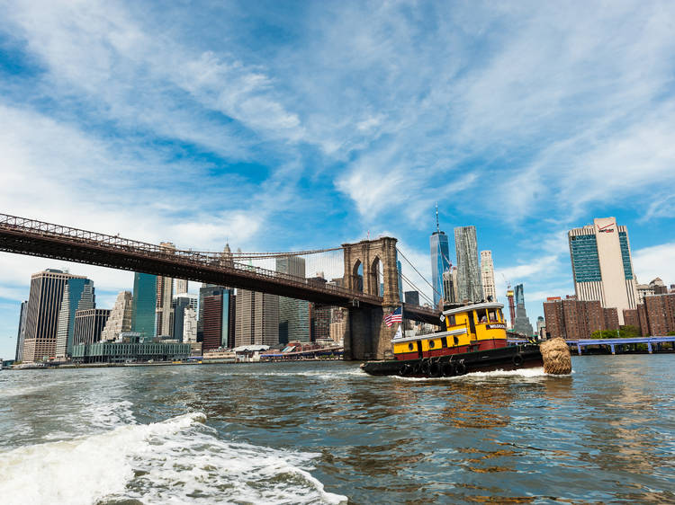 This historic tugboat offers riders a new view of Manhattan