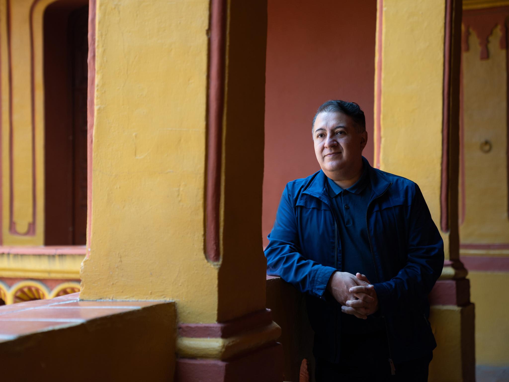 Pável Granados, director de la Fonoteca Nacional