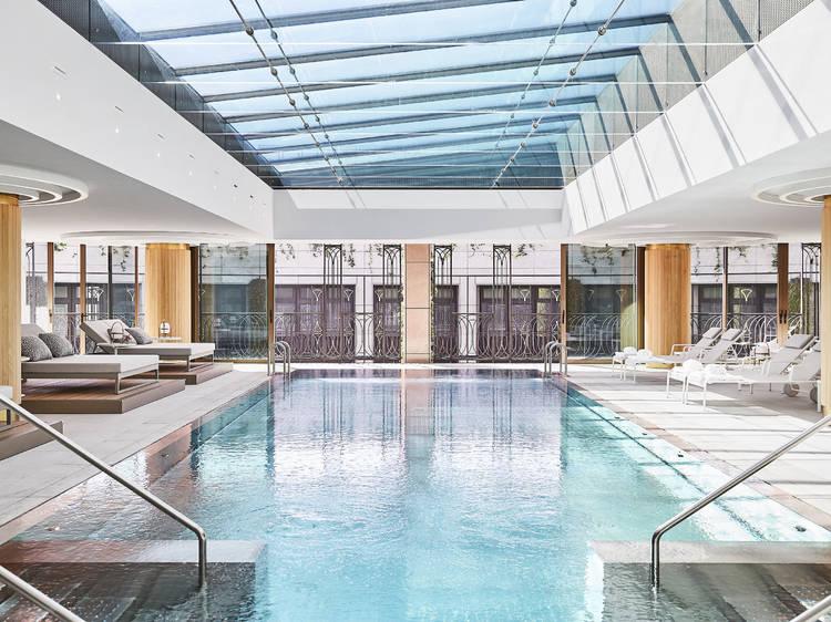 Spas de lujo para relajarse en los hoteles de Madrid