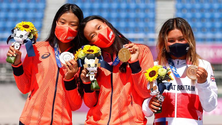 Tokyo Olympic women's skateboarding