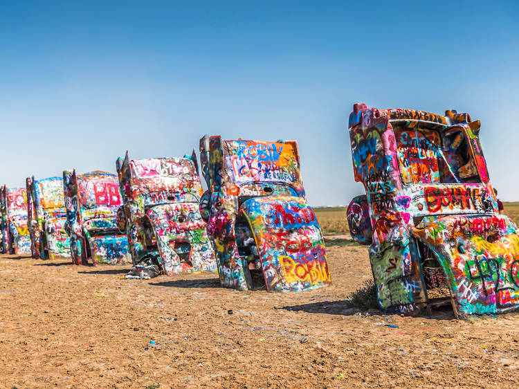 16 seriously cool art installations across the USA