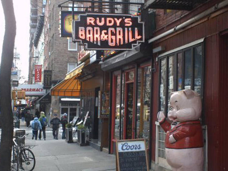 Rudy's Bar and Grill has finally reopened in Hell's Kitchen