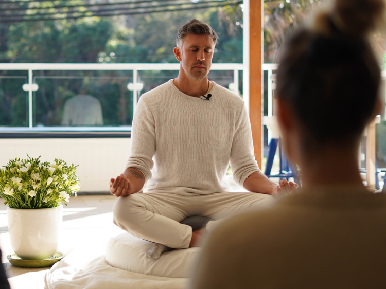 How to let go and get into meditation as a total novice