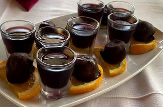 chocolate-covered figs
