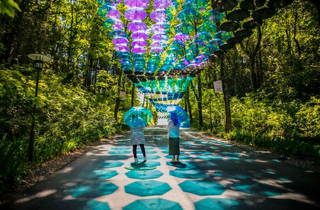 Moominvalley Park Umbrella Sky