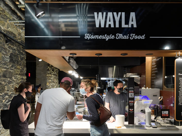 Your order of ribs from Wayla got cooking a lot earlier than you think