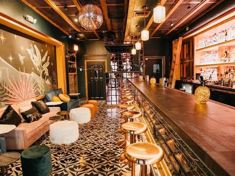 La Yolanda Mezcalería Bar at La Santa Taquería