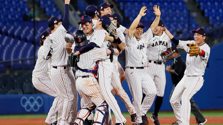 Tokyo Olympics, baseball, Japan