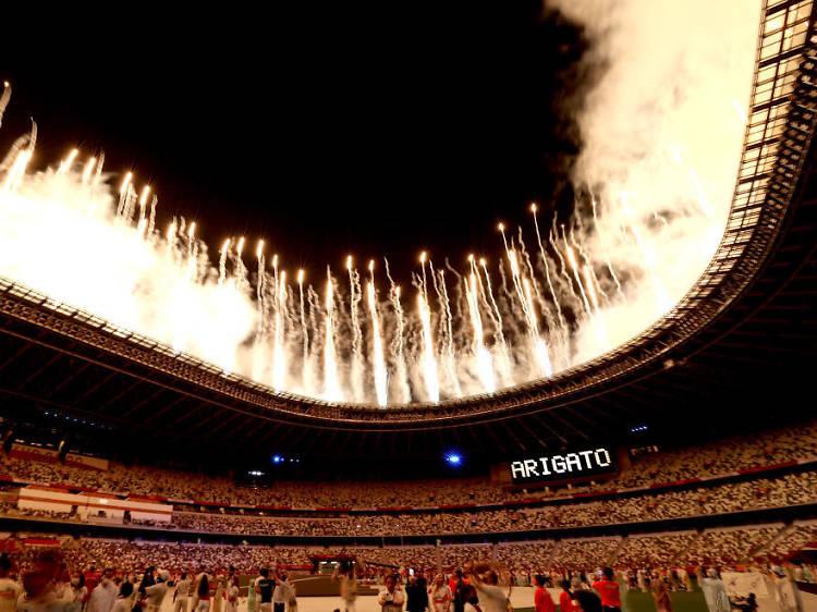 写真で振り返る、東京オリンピック閉会式7つの名シーン