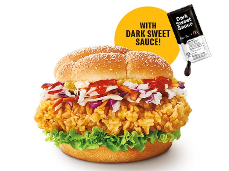 McDonald's Crispy Hainanese Chicken Burger