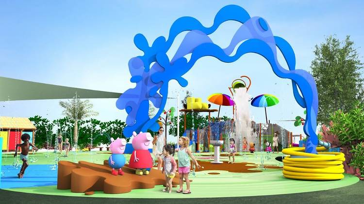 The Peppa Pig Theme Park