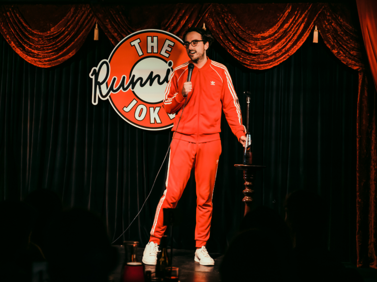 Watch a live stand-up gig from your living room