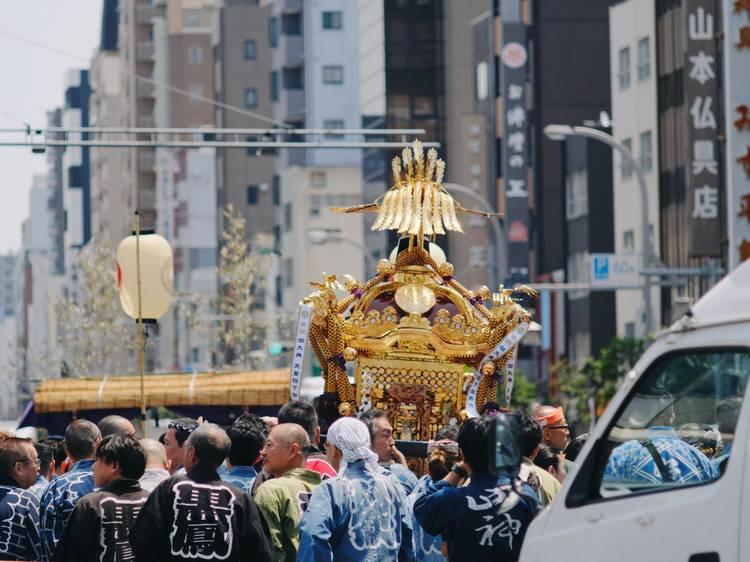 祭礼都市としての江戸、東京