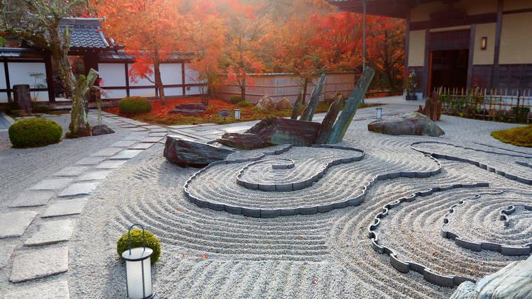 Enkouji, Kyoto, rock garden, zen garden