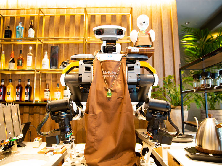Robots can be baristas, too