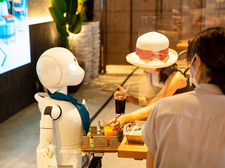 Robots run the floor but humans make the call