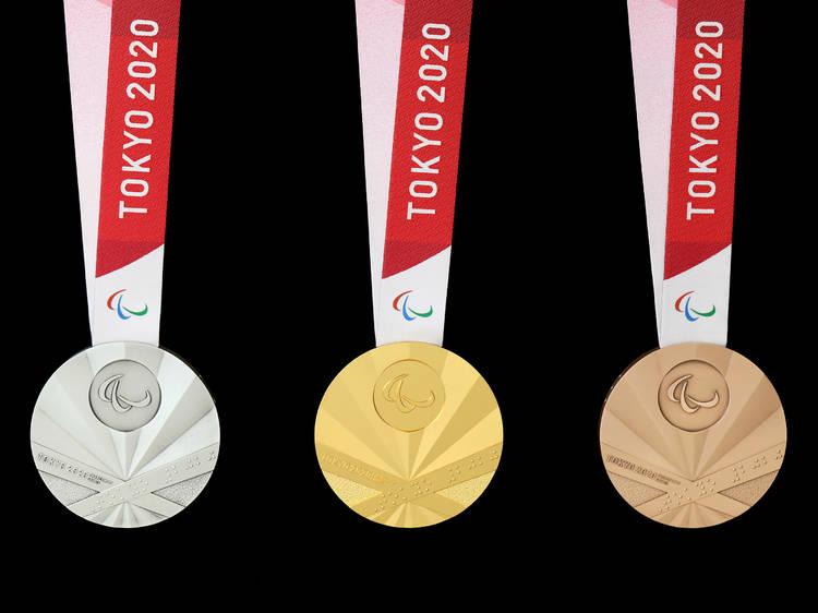 東京パラリンピック、獲得メダル数速報