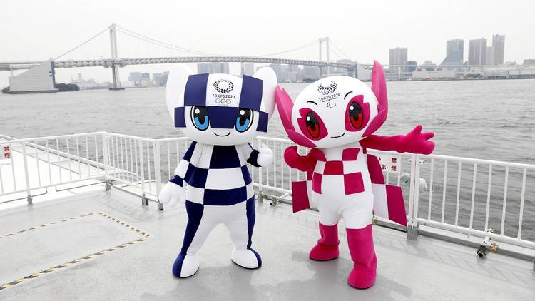 Olympic Paralympic mascots