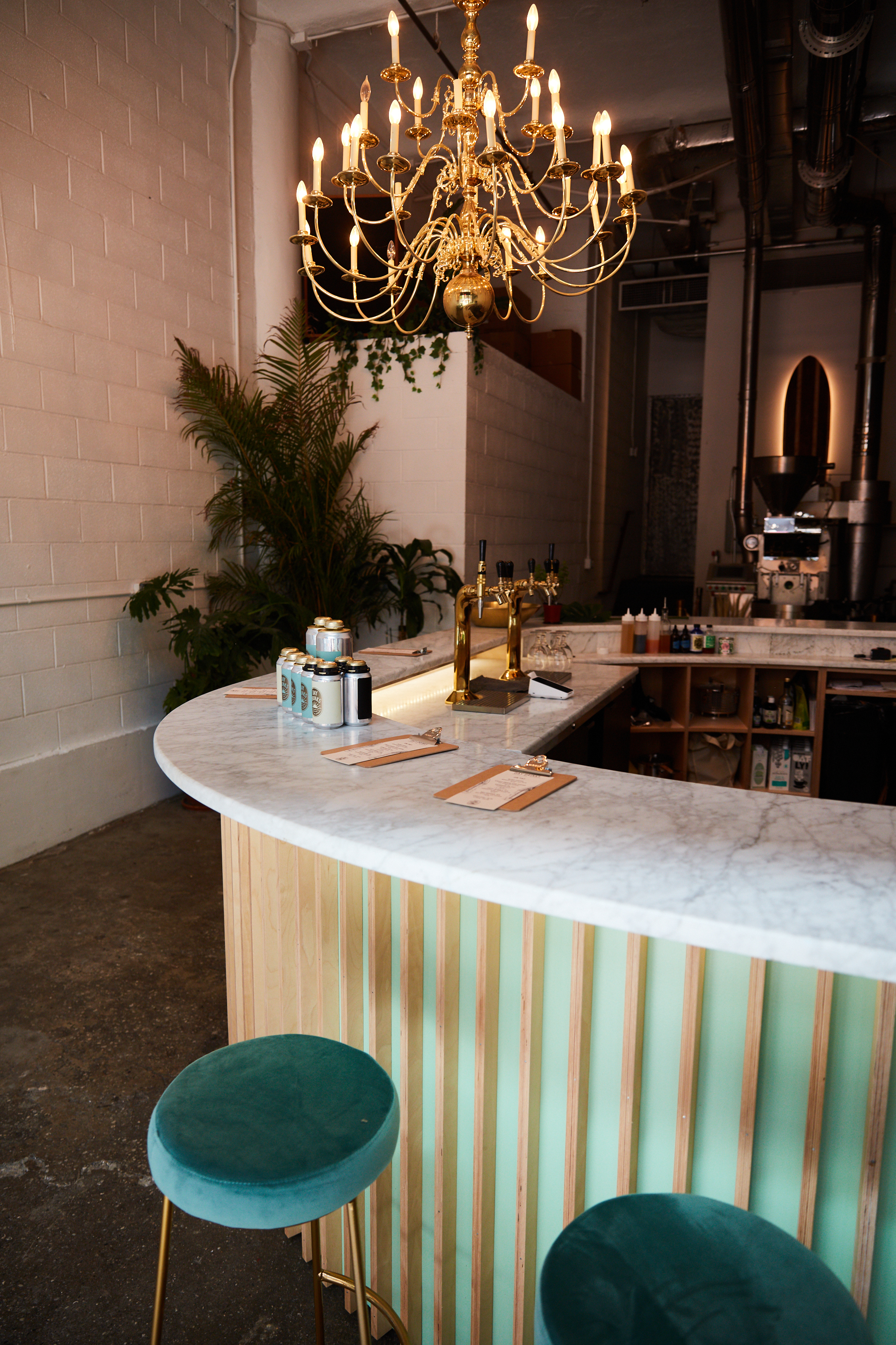 A cocktail-style coffee bar just opened at Chelsea Market