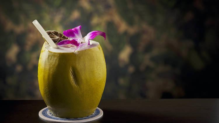 Boticario Bar & Grill's Crazy in the Coconut